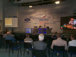 The distance chess match Saint-Petersburg vs. Paris